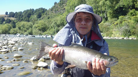 Fly Fishing New Zealand, Rainbow Trout Fishing Turangi