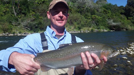 Trout Fishing Taupo New Zealand