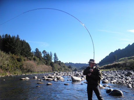 Julian puts the new 10' 5# Orvis to the test