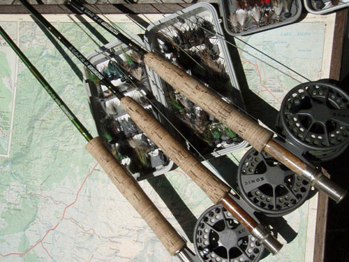 Fly Fishing equipment : rods